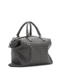Bottega Veneta | Gray The Convertible Intrecciato Leather Tote | Lyst