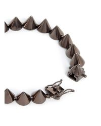 Eddie Borgo | Gray Small Cone Bracelet for Men | Lyst