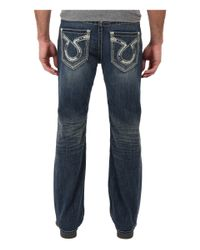 Big Star - Blue Pioneer Bootcut Jeans for Men - Lyst