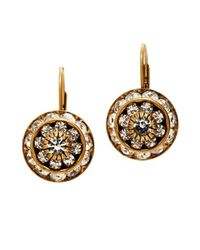 Elizabeth Cole | Metallic Esmerelda Earrings | Lyst