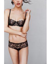 Calvin Klein - Black Sling Balconette Bra - Lyst