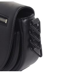 Rebecca Minkoff | Black Mini Astor Saddle Bag | Lyst