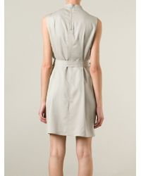 Rick Owens - Natural Belted Dress - Lyst