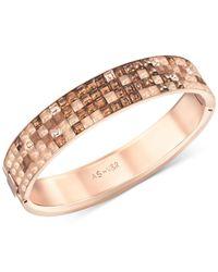 Swarovski | Metallic Viktor  Rolf Crystals Bangle Bracelet | Lyst
