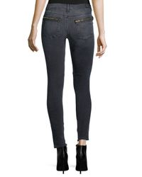 RTA - Black Jagger Skinny Ankle Jeans - Lyst