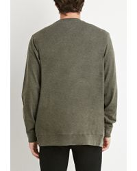 Forever 21 - Natural Classic Two-pocket Cardigan for Men - Lyst