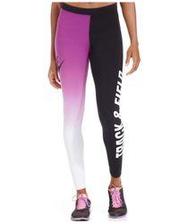 Nike - White Running Printed Leggings - Lyst