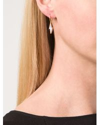 Marie-hélène De Taillac | Metallic Thunder Pendant Earrings | Lyst