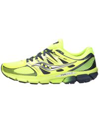 Saucony - Yellow Zealot Iso for Men - Lyst