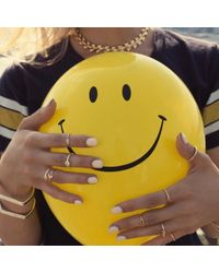 Bing Bang - Yellow Trident Link Choker - Lyst