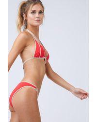 Moeva - Red Lucia Bikini Bottom - Lyst