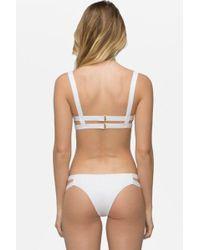 Tavik - Chloe Bikini Bottom - White - Lyst