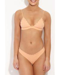 Indah - Pink Karlie Studded Top - Light Peach - Lyst