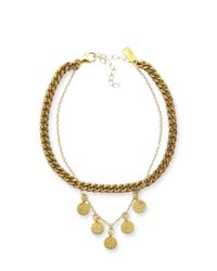 Electric Picks - Metallic Empire Anklet - Lyst