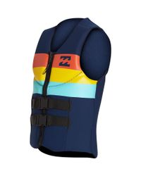 Billabong - Blue Dbah Cga Wake Vest for Men - Lyst