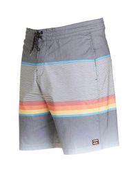 Billabong - Black Spinner Lo Tide Boardshorts for Men - Lyst