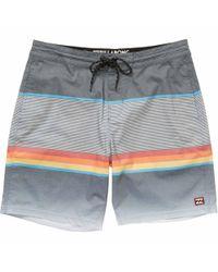 Billabong | Black Spinner Lo Tide Boardshorts for Men | Lyst