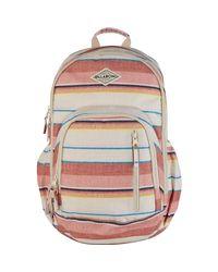 Billabong - White Roadie Backpack - Lyst