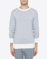 Billy Reid - Multicolor Stripe Crew Sweater for Men - Lyst