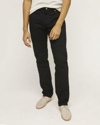 Billy Reid - Black Slim Jean for Men - Lyst