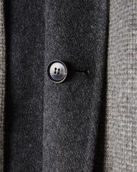 Billy Reid - Gray Rev Walking Coat for Men - Lyst