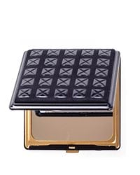 Black.co.uk - Multicolor Black Lacquer Deerskin Compact Mirror - Lyst