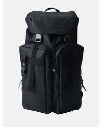 Rains Black M_utility Bag for men
