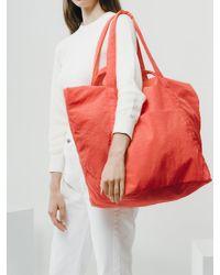 Baggu - Red Travel Cloud Bag_poppy - Lyst