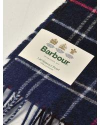 Barbour Multicolor M_tartan Lambswool Scarf for men