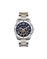 Michael Kors - Metallic Watch - Brecken for Men - Lyst