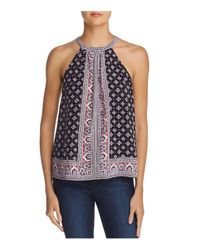 Joie - Blue Bradie Printed Top - Lyst
