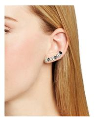 Rebecca Minkoff - Multicolor Glass Trellis Earrings - Lyst