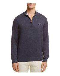 Vineyard Vines - Blue Quarter-zip Sweater for Men - Lyst