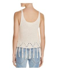 PPLA - Multicolor Dia Sweater-knit Tank - Lyst