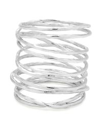Gorjana - Metallic Lola Crisscross Wire Ring - Lyst