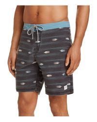Katin | Black Sparrow Print Board Shorts for Men | Lyst