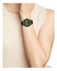 MICHAEL Michael Kors - Green Michael Micheal Kors Slim Runway Watch, 42mm - Lyst