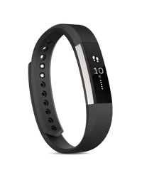 Fitbit - Black Alta Wireless Fitness Tracker - Lyst