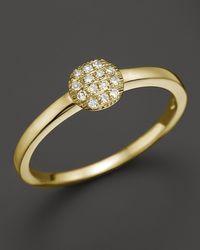 Dana Rebecca - 14k Yellow Gold And Diamond Lauren Joy Mini Ring - Lyst