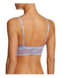 B.tempt'd - Blue Lace Kiss Bralette #910182 - Lyst