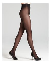 Donna Karan | Black Evolution Seasonless Tights | Lyst
