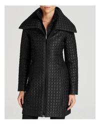 Dawn Levy | Black Gwen Dot Quilt Coat | Lyst