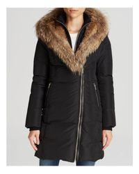 Mackage   Black Fur-trimmed Trish Down Coat   Lyst