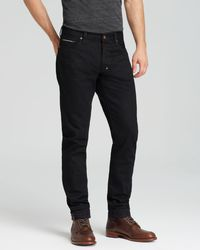 PRPS | Jeans - Fury Selvedge New Tapered Fit In Black Raw for Men | Lyst