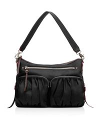 MZ Wallace | Black Hayley Crossbody | Lyst