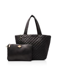 MZ Wallace - Black Oxford Metro Large Tote - Lyst