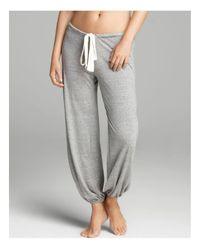 Eberjey | Gray Heather Lounge Pants | Lyst