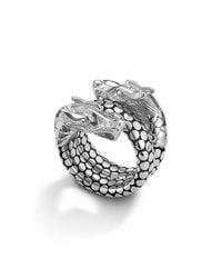 John Hardy | Metallic Naga Sterling Silver Coil Ring | Lyst