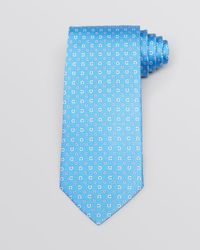 Ferragamo | Blue Gancini Classic Tie for Men | Lyst