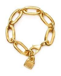 Uno De 50 | Metallic Awesome Bracelet | Lyst